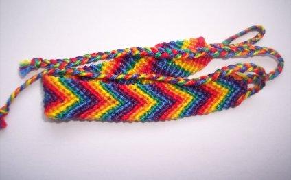 Фенечки косым плетением: схемы